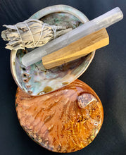 Smudge Ritual Kit with Color Washed Copper Midae Abalone