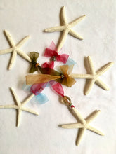 Nautical White Starfish Ornament Hand-Made