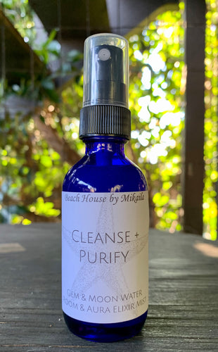 Room + Aura Mist ~ Cleanse + Purify