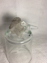 Clear Quartz Bottle Topper