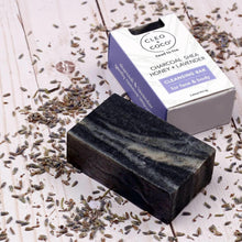 Charcoal Shea Honey Lavender Cleansing Bar