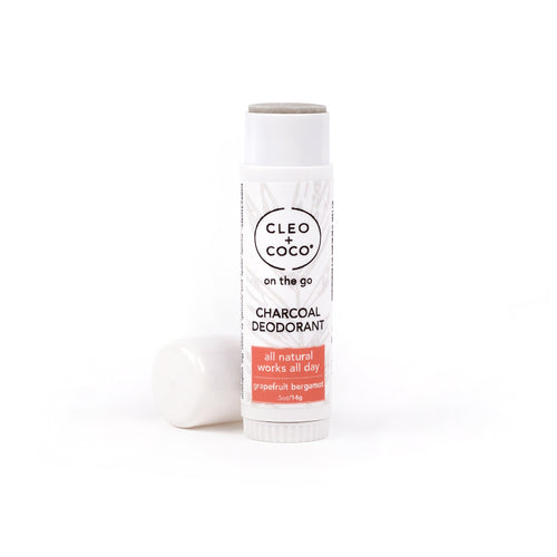 Mini Charcoal Deodorant - Grapefruit Bergamot