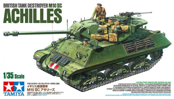 Tamiya British Tank Destroyer M10 IIC Achilles