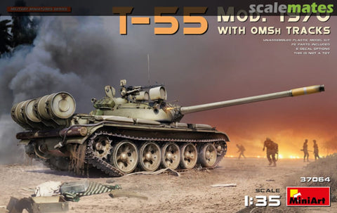 1:35 Miniart T-55 Mod 1970 with OMSH Tracks