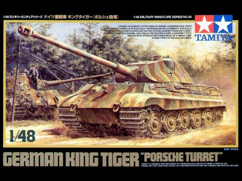 "German King Tiger ""Porsche Turret"""