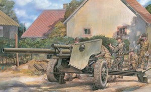 1:35 AFV Club US 3 inch Gun M5 on M6 Carriage #35181