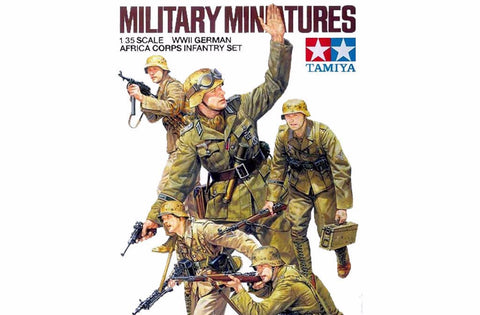 1/35 Scale German Africa Corps Infantry Set