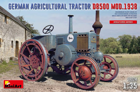 1.35 GERMAN AGRICULTURAL TRACTOR D8500 MOD. 1938