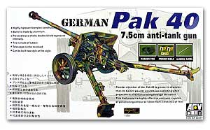 1:35 AFV Club German Pak 40 7.5cm Anti-Tank Gun