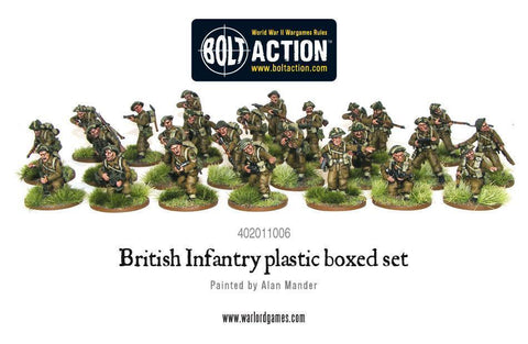 Bolt Action : British Infantry Section