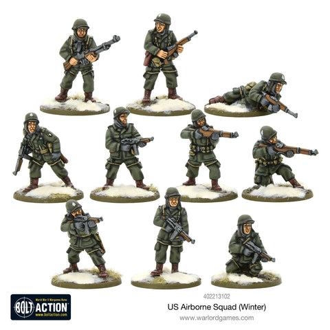 Bolt Action: US Airbone Squad (Winter)