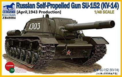 Bronco Russian Self-Propelled Gun Su-152 (KV-14)