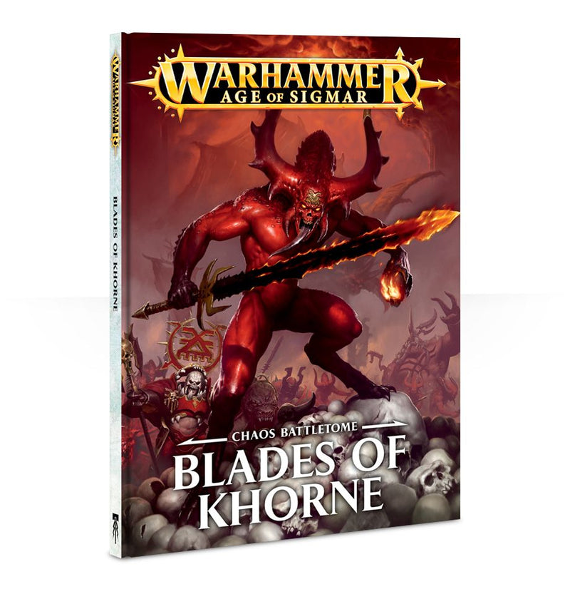 Warscroll Cards Blades of Khorne (Ingles)