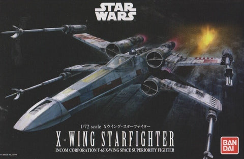 Star wars 1/72 X-Wing Star Fighter