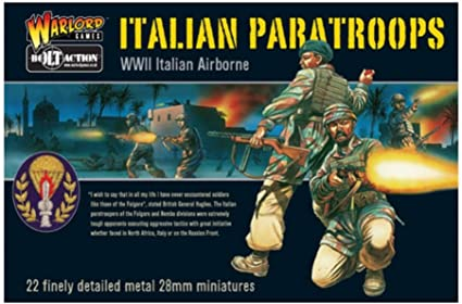 Bolt Action: (Italian) Nembo Paratroopers