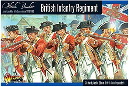 Black Powder British Infantry Regiment