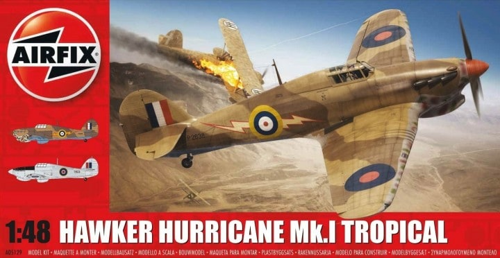 Airfix Hawker Hurricane Mk.I Tropical