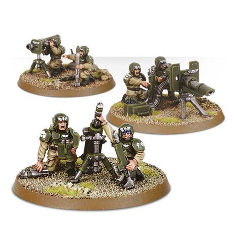 Cadian Heavy Weapon Team