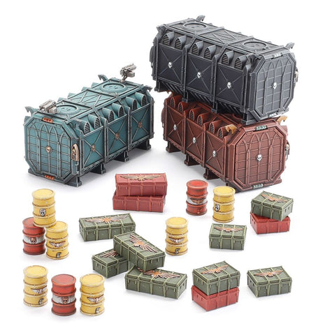 B/Z MANUF.:MUNITORUM ARMOURED CONTAINERS