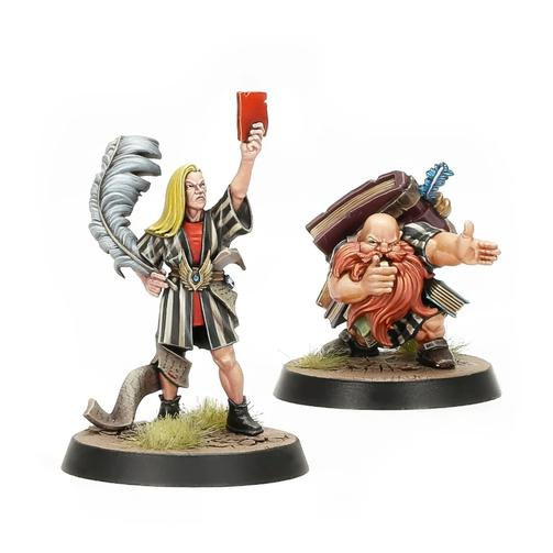 Blood Bowl: Elf And Dwarf Baised Referees