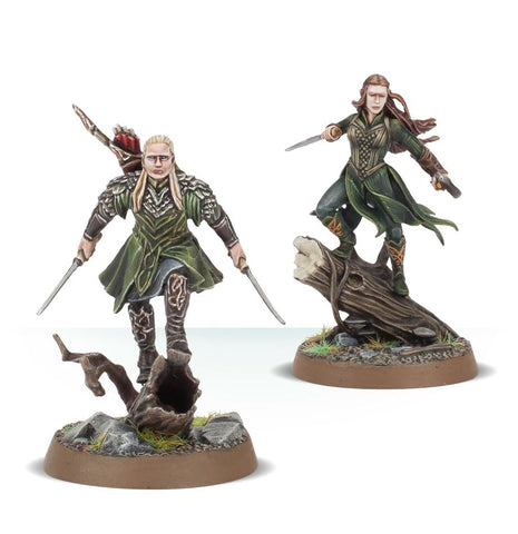 Legolas Greenleaf and Tauriel