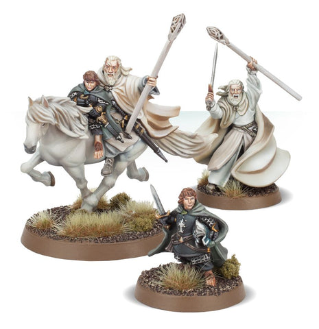 Gandalf The White And Peregrin Took