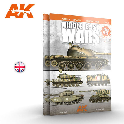 Ak Interactive Middle East Wars 1918-1973 Vol 1