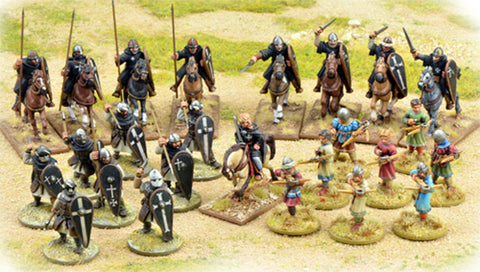 SAGA: THE CRESCENT & THE CROSS:(Milities Christi) WARBAND STARTER