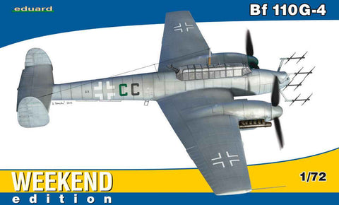 1:72 Eduard Bf 110G-4 Weekend Edition