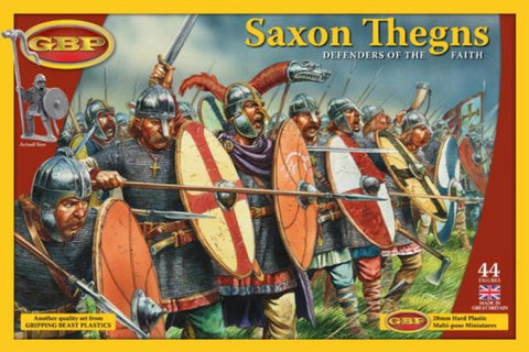 28mm Historical: Saxon Thegns - Defenders Of The Faith
