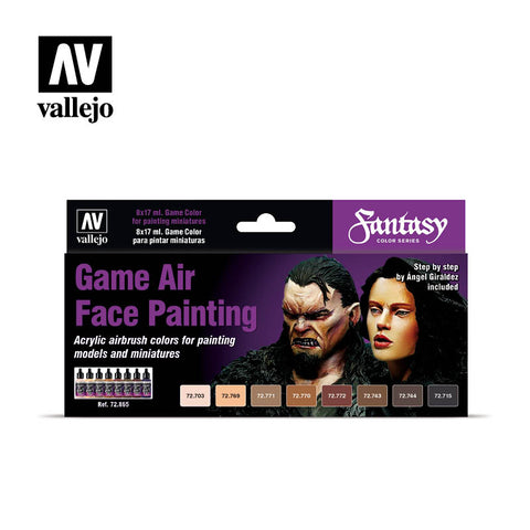 Game Air Face Painting