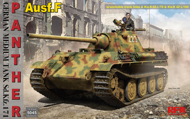 RFM 1/35 Panther Ausf.f SD.KFZ.171