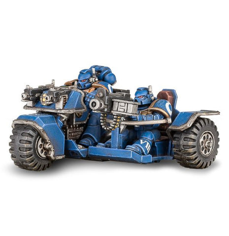 Space Marines Attack Bike