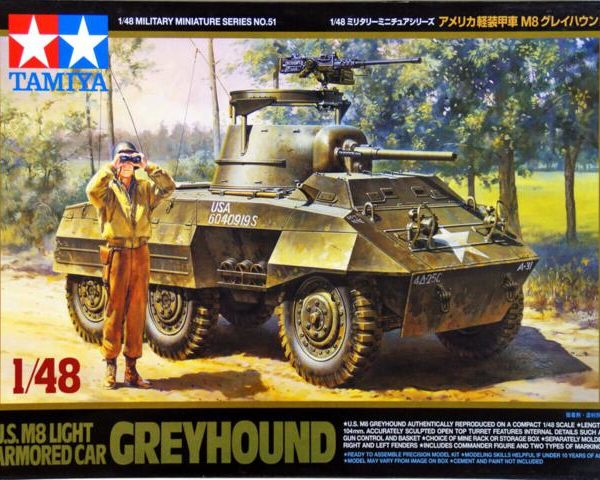 U.S M8 Light Armored Car Greyhound