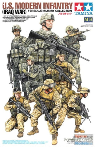 1:35 Tamiya US Modern Infantry (Iraq War) Figure set