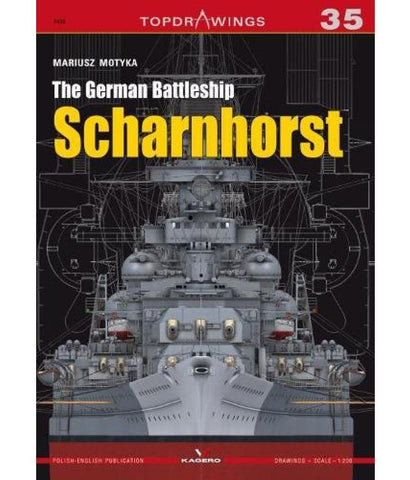 Kagero Topdrawings - The German Battleship Sharnhorst