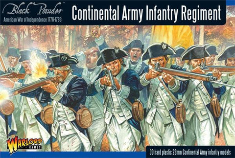 Black Powder Continental Infantry Regiment