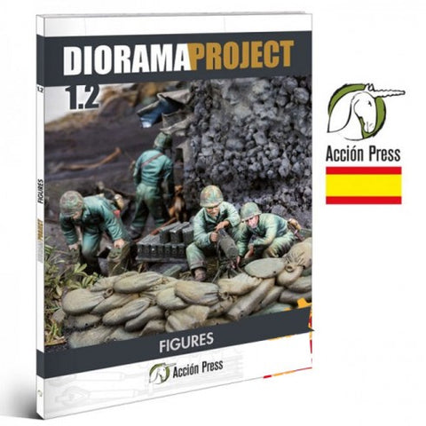 Diorama Project 1.2 FIgures  -AFV at WAR
