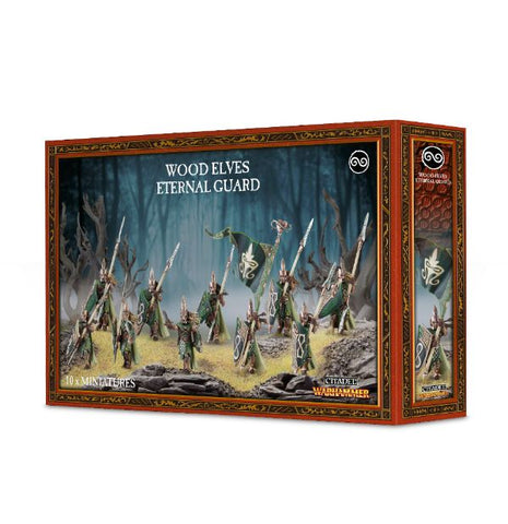 Wood elves Eternal guard.