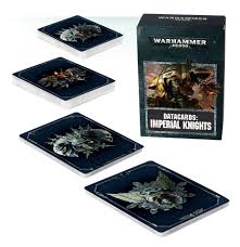 Datacards: Imperial knights (Ingles)
