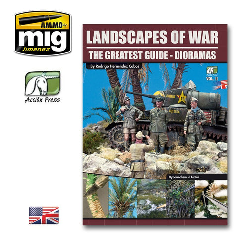LANDSCAPES OF WAR: THE GREATEST GUIDE - DIORAMAS VOL. 2 (Español)