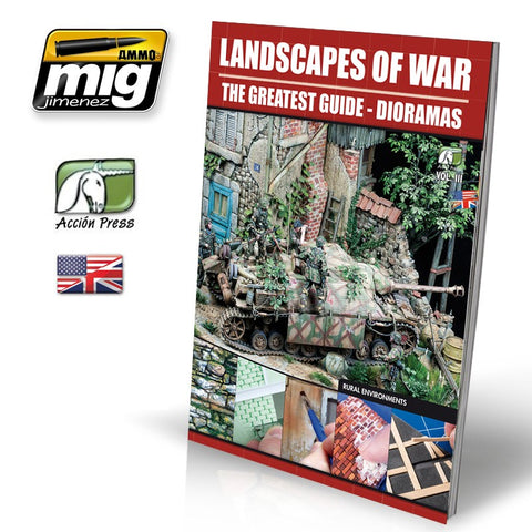 LANDSCAPES OF WAR: THE GREATEST GUIDE - DIORAMAS Vol.III - Rural Enviroments (Español)