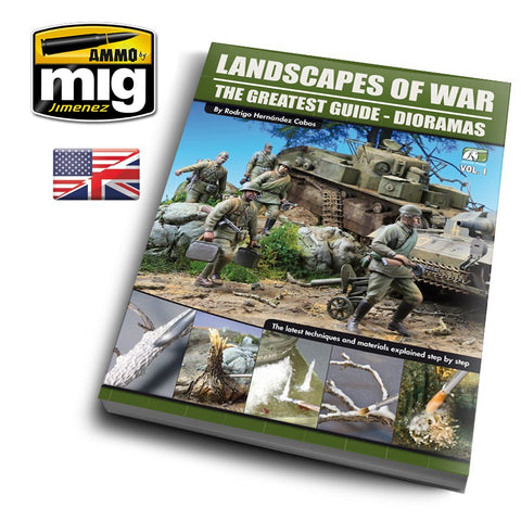 LANDSCAPES OF WAR: THE GREATEST GUIDE - DIORAMAS VOL. 1 (Español)