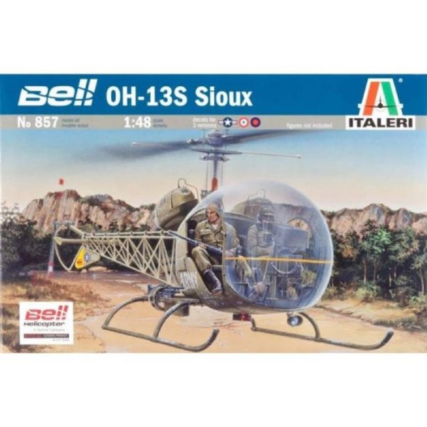 Italeri 1/48 Bell OH-13S Sioux