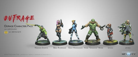 Infinity Outrage Characters Pack