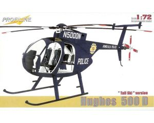 1:72 Profiline Hughes 500 D Helicopter Tail Ski Version