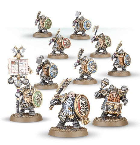 Dwarf ironbreakers.