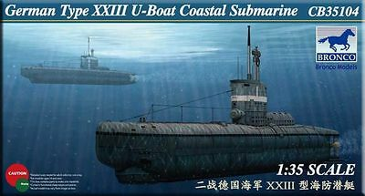 1:35 German U-XXIII Coastal Submarine