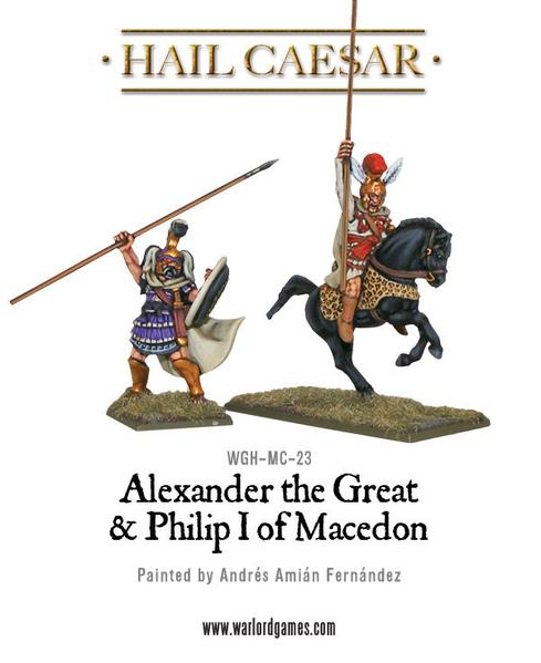 Alexander the Great & Philip I of Macedon