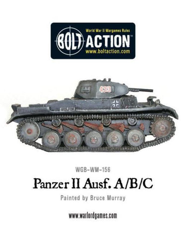 Bolt Action,2nd edition :(German) Panzer II Ausf.